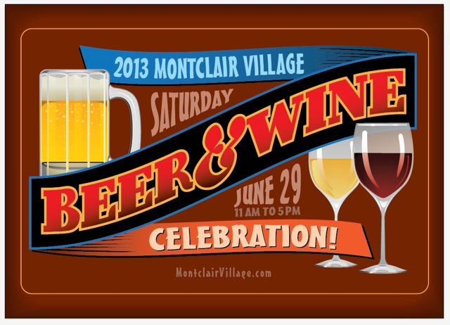 Beer and Wine 2013postard FRONT