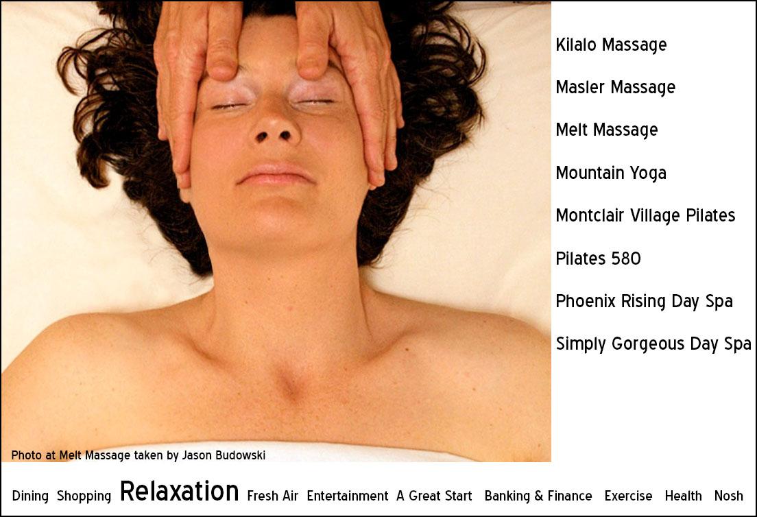 Relaxing Melt Massage Slide with citation